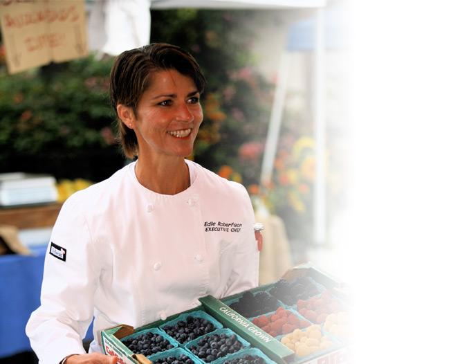 Chef Edie Robertson